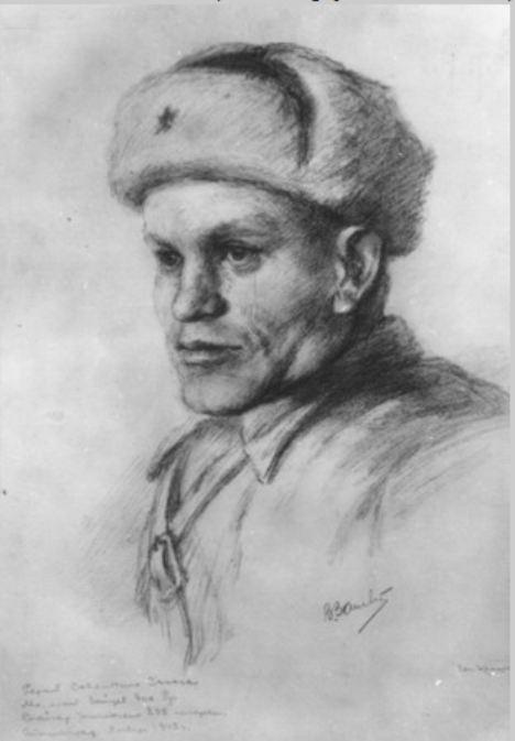 Сталинград в фронтовых рисунках
