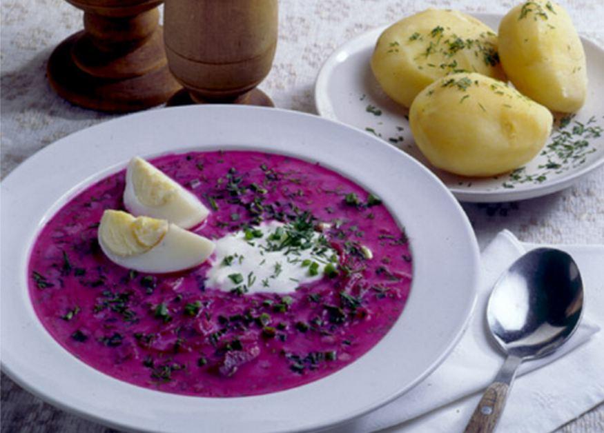 простой и вкусный литовский суп