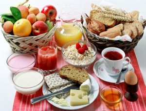 завтрак полезный и правильный