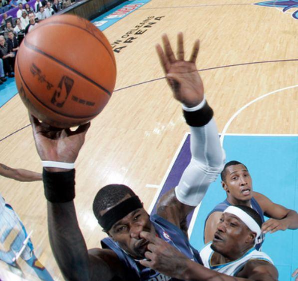 длинные руки баскетболиста