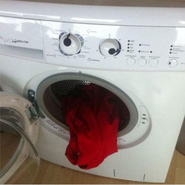 стиральная машина удивилась
