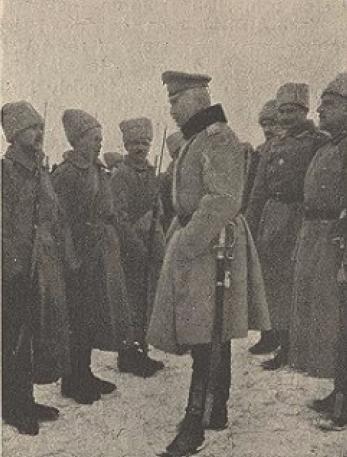 Генерал Брусилов. Волынь 1916 год.