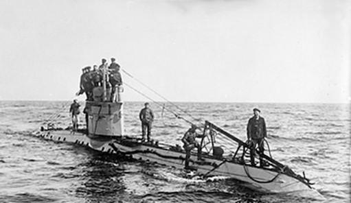 Германская подводная лодка UC-1.