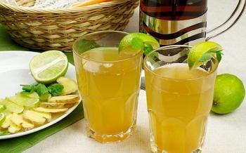 prohladitelnie napitki s imbirem