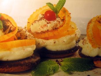 десерты из апельсинов_колечки апельсиновые