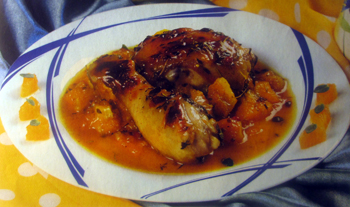 апельсиновые рецепты_курица в желе