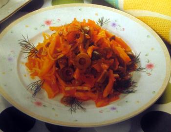 Спагетти-с-кальмарами