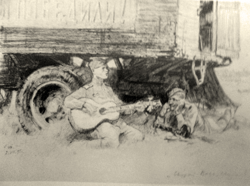 Жуков, рисунки 4