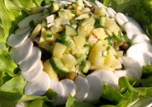 зелёные-салаты