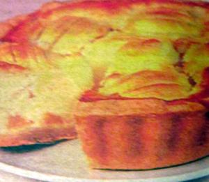 яблочный пирог с апельсинами