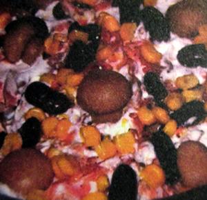 постный фасолевый-салат-с-шампиньон