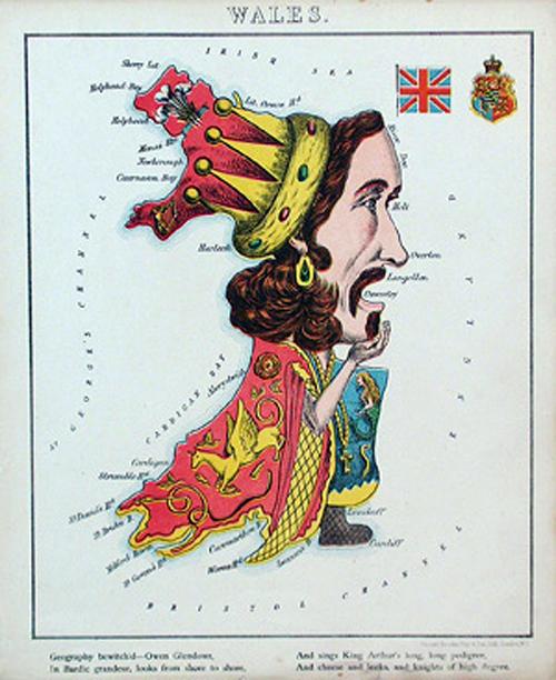 английский атлас Европы walesth 1877 г.