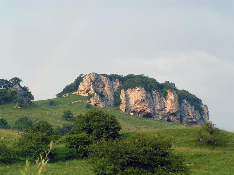 окрестности горы Фишт, Лето