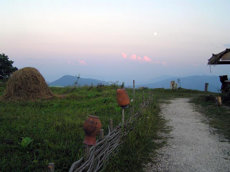 на пути к горе Фишт