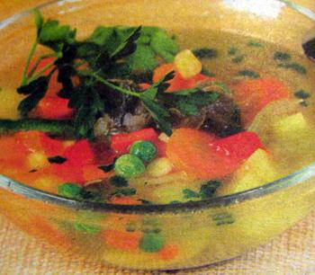суп из говяжьей грудинки