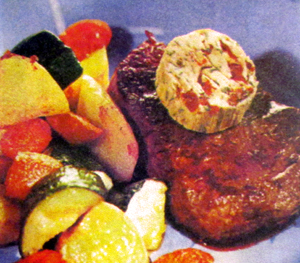 Баранина запечённая с овощами