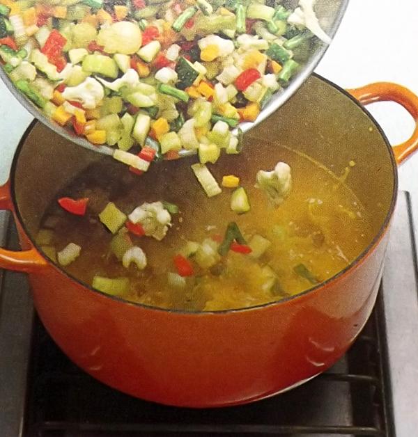 овощи под горчичным маринадом 4