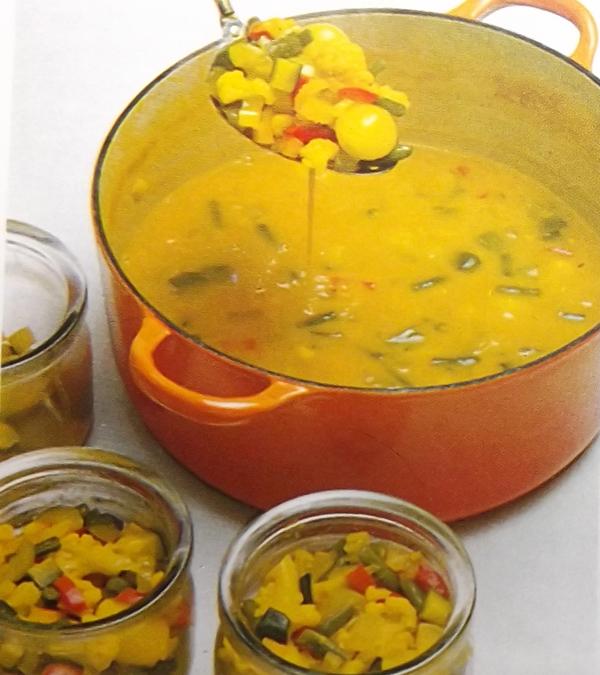 овощи под горчичным маринадом 5