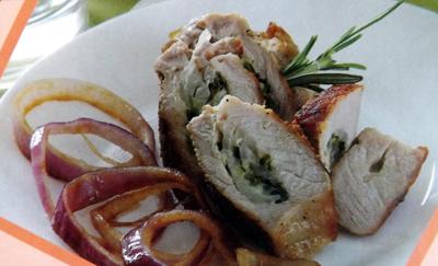 корейка,-фаршированная-сыром и зеленью