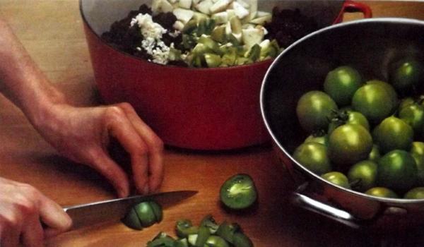 Чатни-из-зелёных-помидоров-