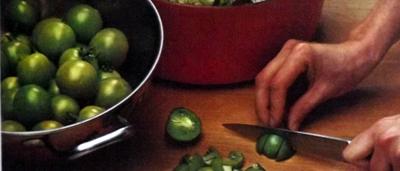 Чатни. соус из зелёных помидоров