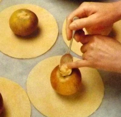 яблоки-запечённые