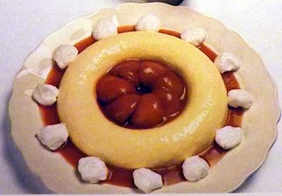 Персики-рецепт-десерта